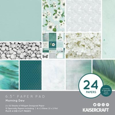 Kaisercraft Morning Dew Designpapier - Paper Pad