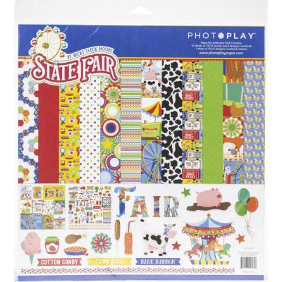 PhotoPlay State Fair Designpapier - Collection Pack