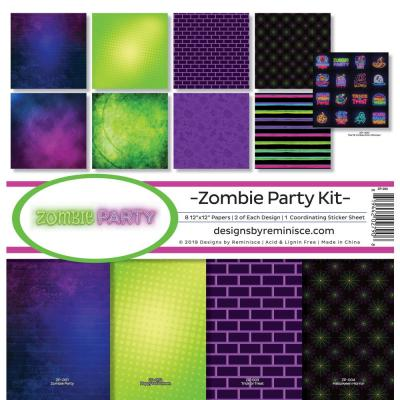 Reminisce Collection Kit - Zombie Party