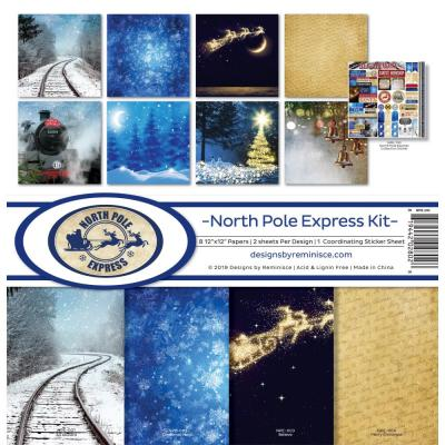 Reminisce Collection Kit - North Pole Express
