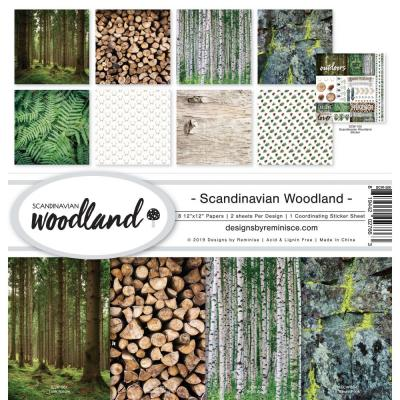 Reminisce Collection Kit - Scandinavian Woodland