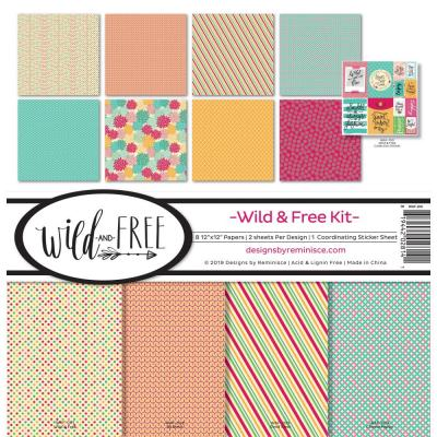 Reminisce Collection Kit - Wild & Free