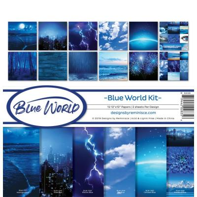 Reminisce Collection Kit - Blue World