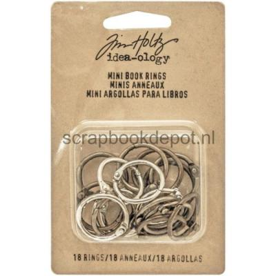 Idea-ology Tim Holtz - Mini Book Rings