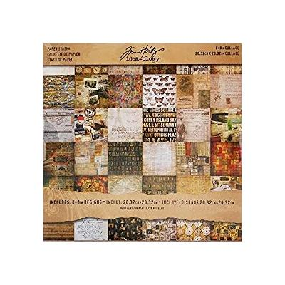 Idea-ology Tim Holtz Paper Pad - Collage
