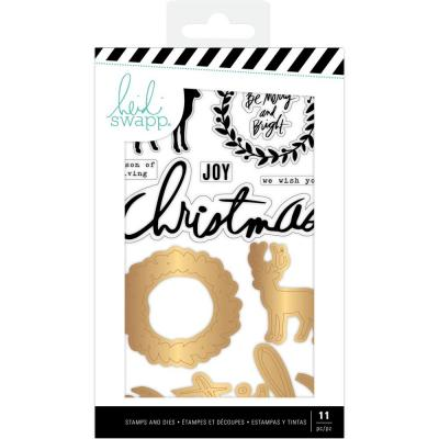 Heidi Swapp Winter Wonderland - Stamp & Die Set