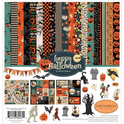 Carta Bella Happy Halloween Designpapier - Collection Kit