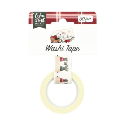 Echo Park A Cozy Christmas Washi Tape - Holiday Jars