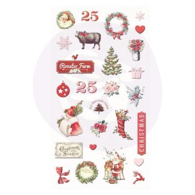 Prima Marketing Christmas In The Country Weiche Sticker - Puffy Stickers