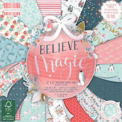 First Edition Believe in Magic Designpapier - Paper Pad