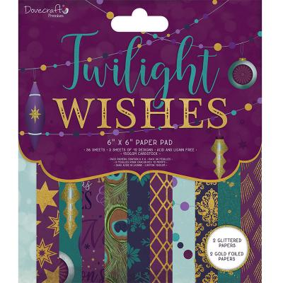 Dovecraft Designpapier - Twilight Wishes