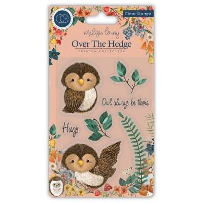 Craft Consortium Over The Hedge Clear Stamps - Olivia the Owl