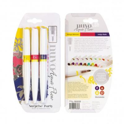 Tonic Studios Nuvo Aqua Flow Pens -  Surprise Party