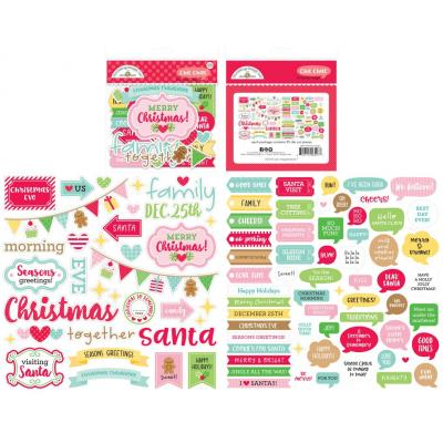 Doodlebug Christmas Magic Die Cuts - Chit Chat