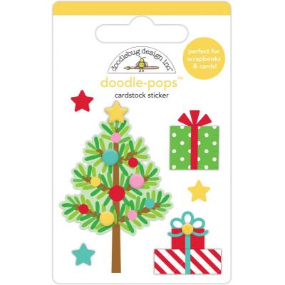 Doodlebug Christmas Magic Doodle-Pops - Trim The Tree