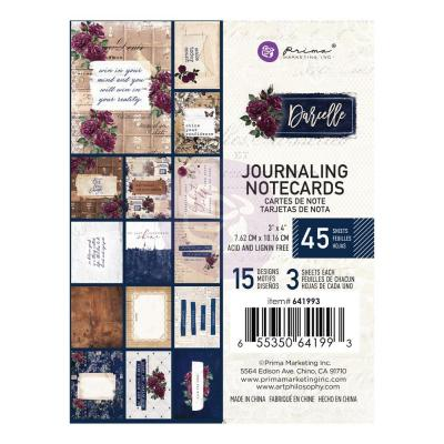 Prima Marketing Darcelle - Journaling Cards 3 x 4