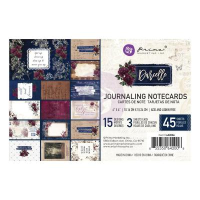 Prima Marketing Darcelle - Journaling Cards 4 x 6