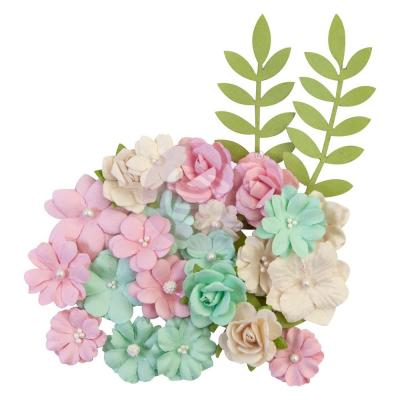 Prima Marketing Dulce Mulberry Paper Flowers - Sweet Treat