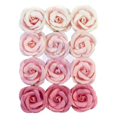 Prima Marketing Dulce Mulberry Paper Flowers Embellishments - Miracles & Unicorns