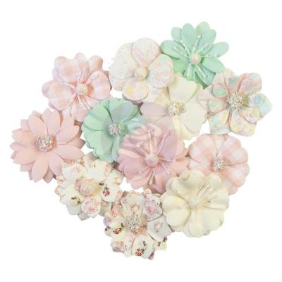 Prima Marketing Dulce Mulberry Paper Flowers Embellishments - Full Heart