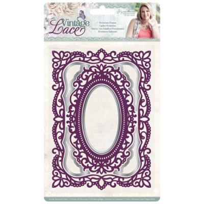 Crafter's Companion Sara Signature Vintage Lace Cut & Emboss Folder - Provence Frame