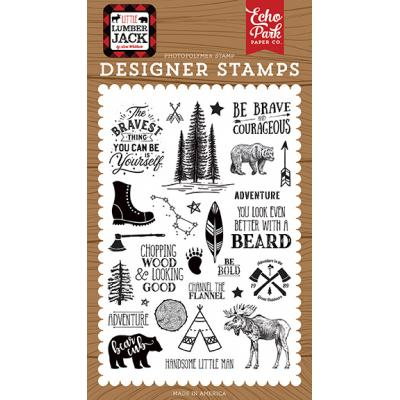 Echo Park Clear Stamps - Be Brave