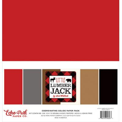 Echo Park Little Lumberjack - Solids Kit