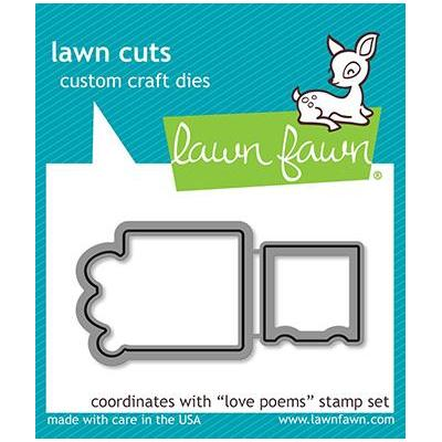Lawn Fawn Lawn Cuts - Love Poems