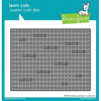 Lawn Fawn Lawn Cuts - XOXO Landscape Backdrop