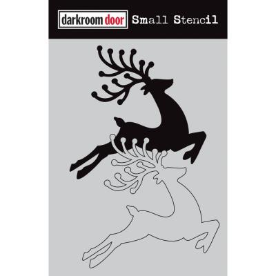 Darkroom Door Stencil - Reindeer Set