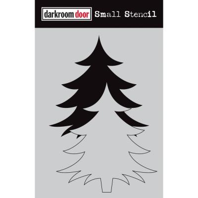Darkroom Door Stencil - Christmas Tree Set