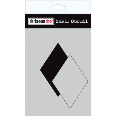 Darkroom Door Stencil - Diamond