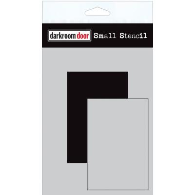 Darkroom Door Stencil - Short Rectangle