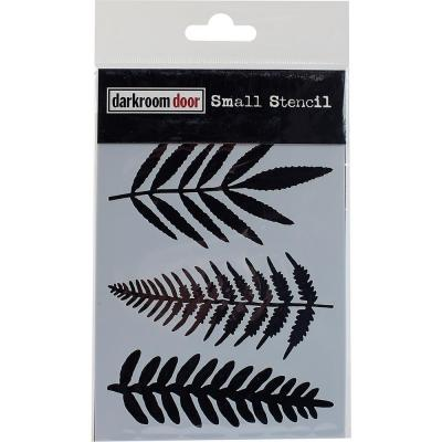 Darkroom Door Stencil - Ferns