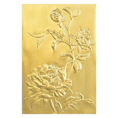 Sizzix 3-D Texture Fades Embossing Folder Tim Holtz - Roses 664189