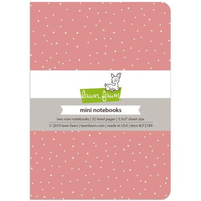 Law Fawn Mini Notebooks - Perfectly Pink