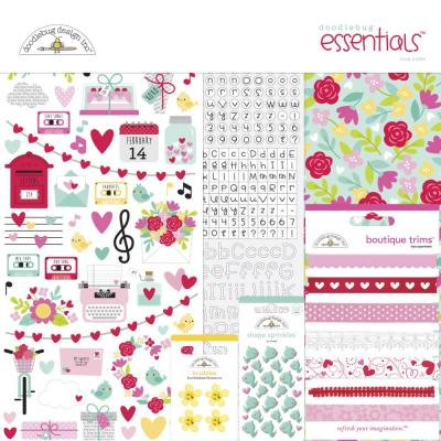 Doodlebug Love Notes - Essentials Kit