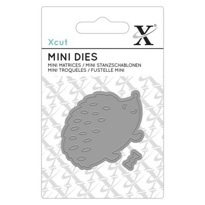 XCut Mini Die - Dapper Hedge Hog