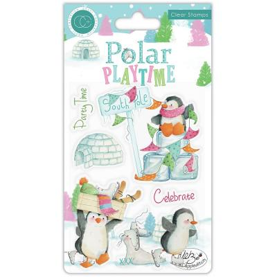 Craft Consortium Polar Playtime Clear Stamps - Playtime
