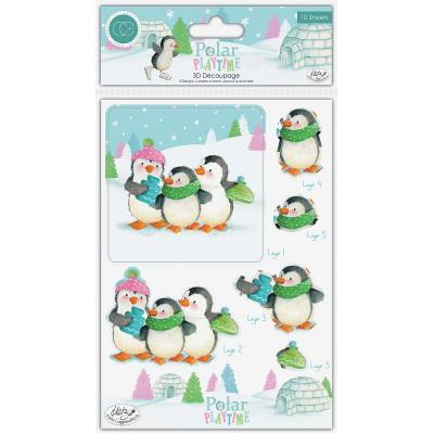 Craft Consortium Polar Playtime - 3D Decoupage Set