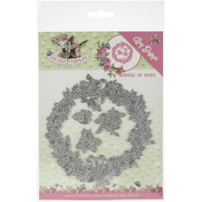 Amy Design Spring Is Here Die - Circle Of Roses