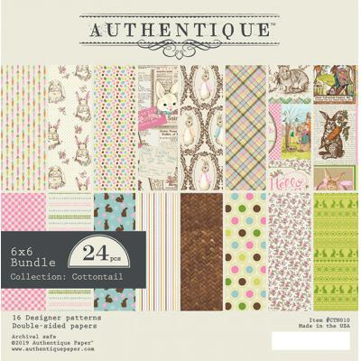 Authentique Cottontail Designpapier - Paper Pad