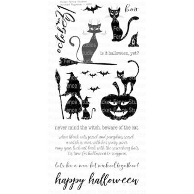 Picket Fence Studios Clear Stamps - Wicked Together