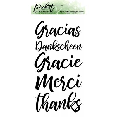 Picket Fence Studios Clear Stamps - Ways to Say Thanks