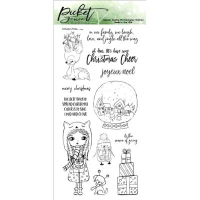 Picket Fence Studios Clear Stamps - The Season of Giving