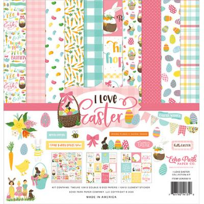 Echo Park I Love Easter Designpapier - Collection Kit