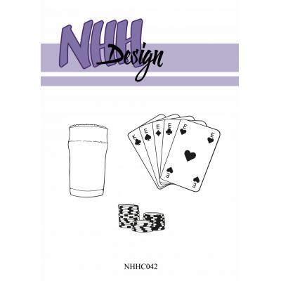 NHH Design Clear Stamps - Poker