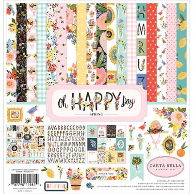 Carta Bella Oh Happy Day Designpapier - Collection Kit