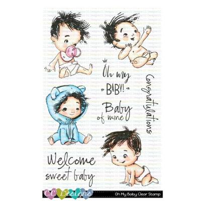 C.C. Designs Clear Stamps - Oh My Baby