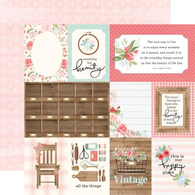 Carta Bella Farmhouse Market Designpapier - 3x4 Journaling Cards